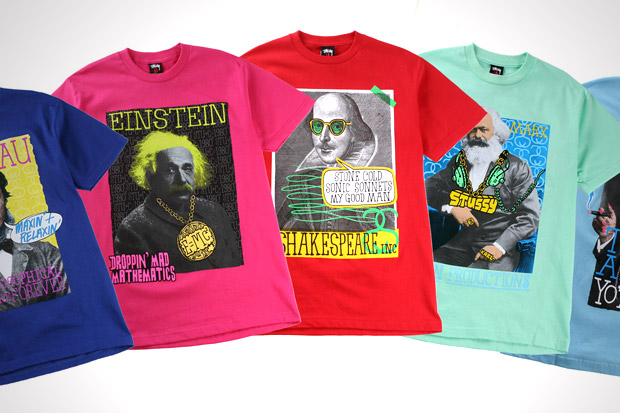"""Stussy """"Great Minds"""" Collection"""