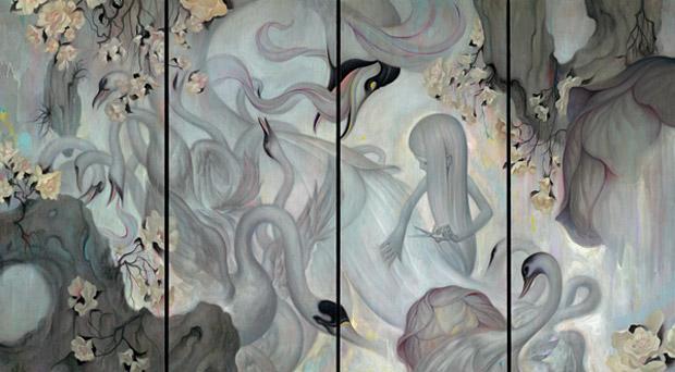 "SURU x James Jean Limited Edition ""Swan"" Print"
