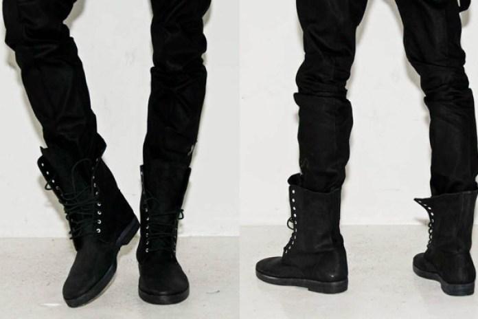 Tim Hamilton Black Combat Boots