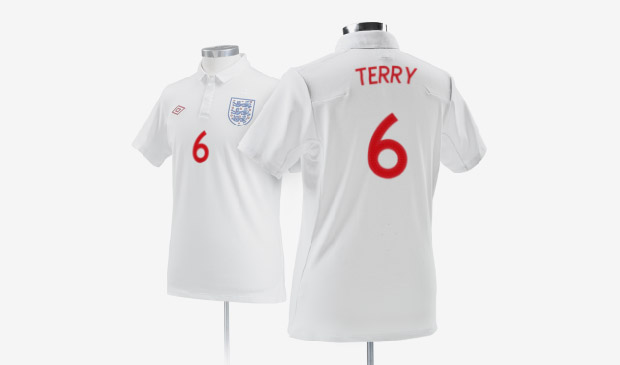 Umbro 2009 England National Team Kits