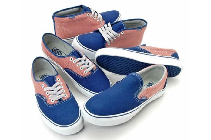 "Vans ""Angle Stripe"" Authentic | Chukka | Slip-On"