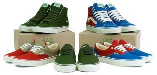 """Vans """"Messenger"""" Sneaker Collection"""