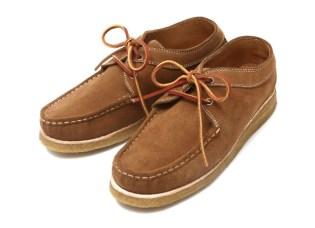 vendor Weaver Moccasin Lace-up Shoes