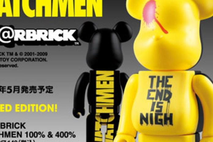 Watchmen x Medicom Toy 100% & 400% Bearbrick Set