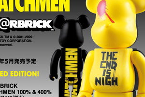 Watchmen x Medicom Toy 100% & 400% Bearbrick Set