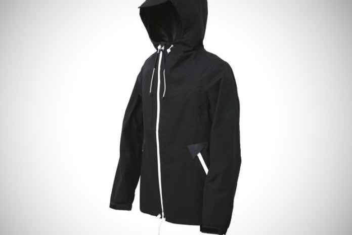White Mountaineering Black Brooks Jacket