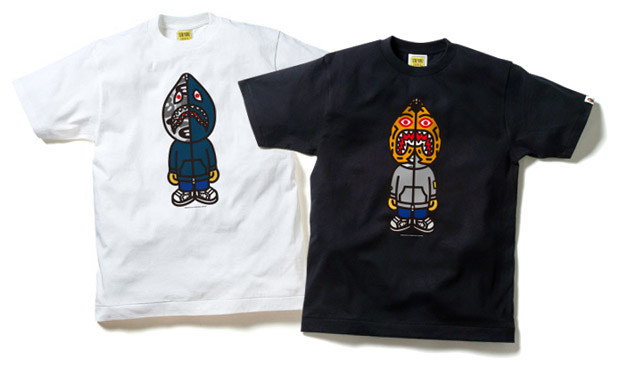 A Bathing Ape Animal Hoody T-Shirts