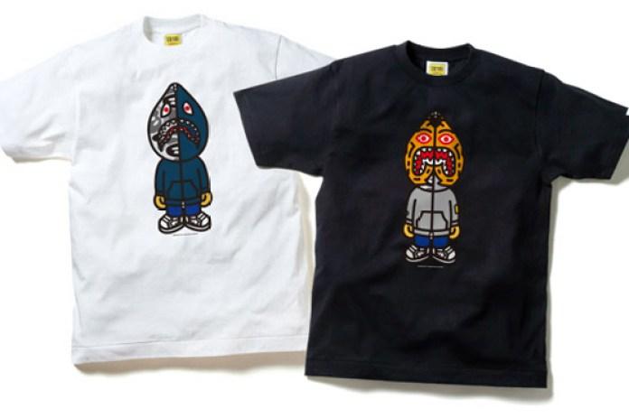 A Bathing Ape Animal Hoody T-Shirts