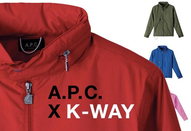 A.P.C x K-Way SS '09 Jacket