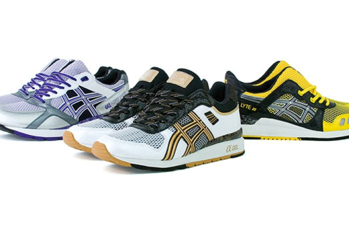 Asics Runovation Pack - GT II, GT III & Lyte Speed