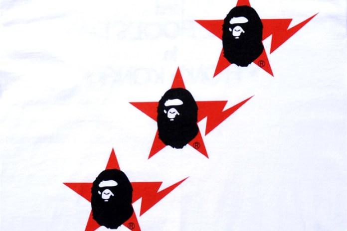 A Bathing Ape Hong Kong 3rd Anniversary Exclusive T-Shirt