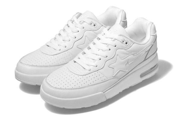 A Bathing Ape Roadsta - All White Colorway