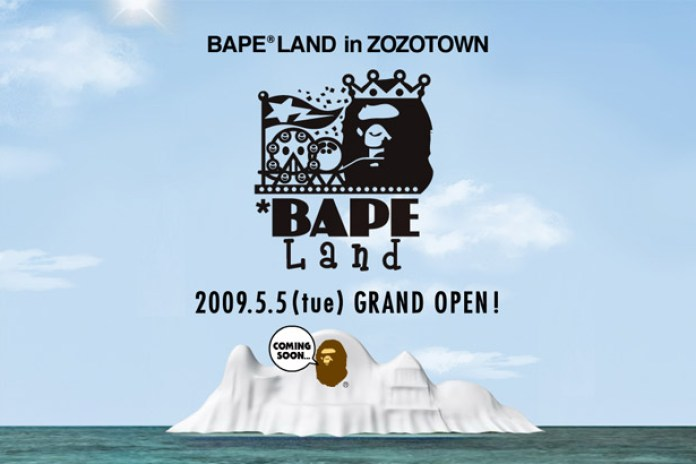 Bape Land Opening on Zozotown