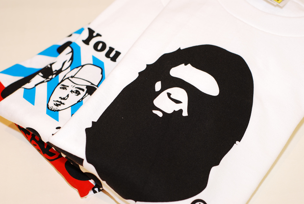 A Bathing Ape NFS T-shirts