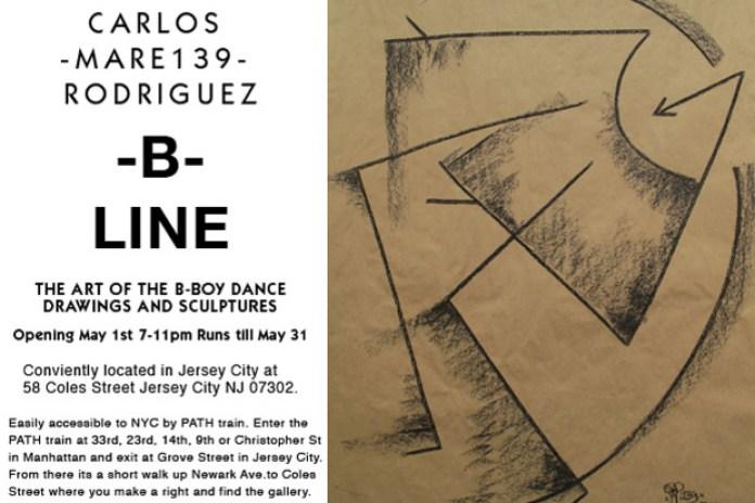 """Carlos """"Mare139"""" Rodriguez   B-Line Exhibition at 58 Gallery"""