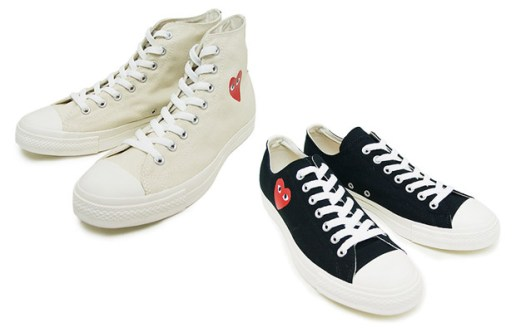 COMME des GARCONS PLAY x Converse Chuck Taylor All Star