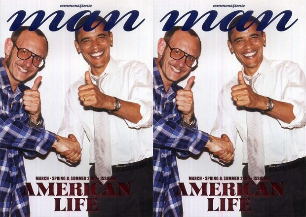 commons&sense man Magazine Issue 06 featuring Terry Richardson & Barack Obama