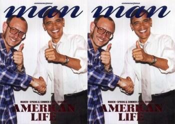 commons&sense man Magazine Issue 06 featuring Terry Richardson & Barack Obama