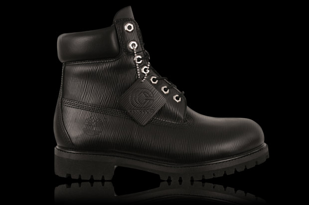 "Concepts x Timberland Black Epi Leather 6"" Premium Boot"