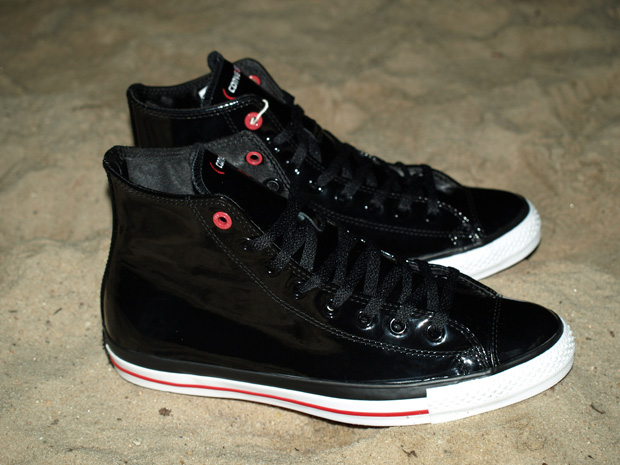"""Converse (PRODUCT) RED Chuck Taylor All Star Hi """"Lupe Fiasco"""""""