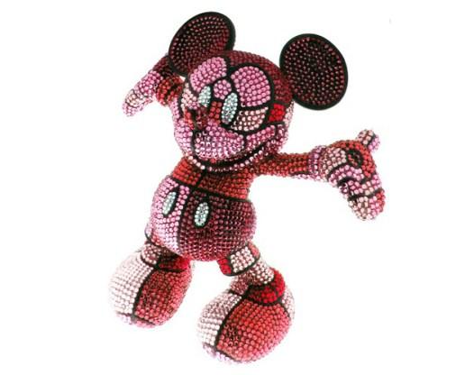 David Flores x Medicom Toy Mickey Vinyl for Disney BLOC28 Project
