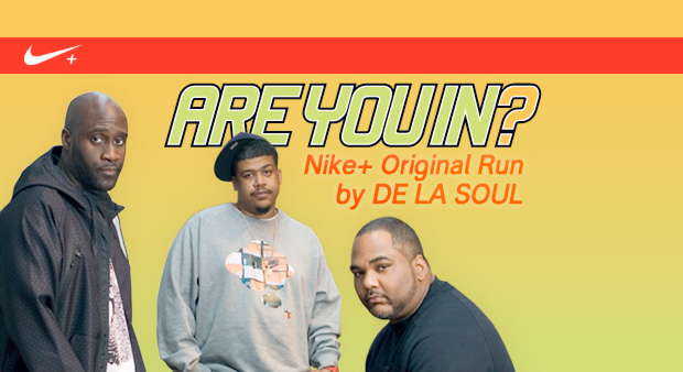 Nike & De La Soul present ARE YOU IN? Original Run Album