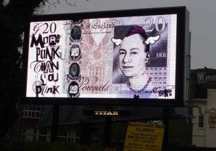 D*Face Billboard at G20 Summit in London