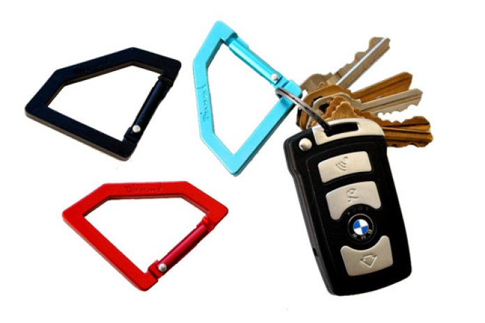 "Diamond Supply Co. ""Rock"" Carabiners"