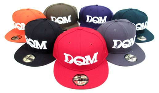 "DQM New Era 59FIFTY ""Basic"" Fitted Caps"