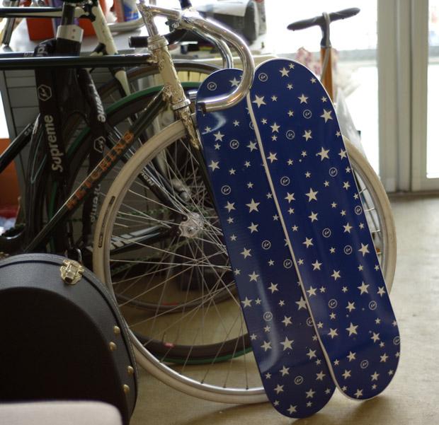 fragment design x T19 Skateboard