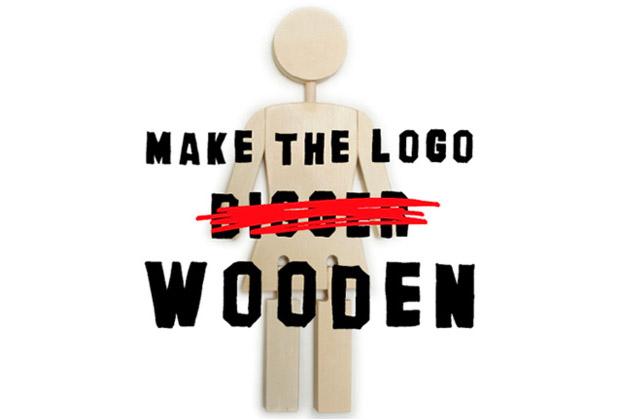 The Art Dump | Make The Logo Wooden Exhibition