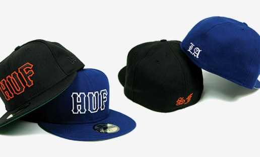 HUF SF | LA Exclusive New Era 59FIFTY Fitted Caps