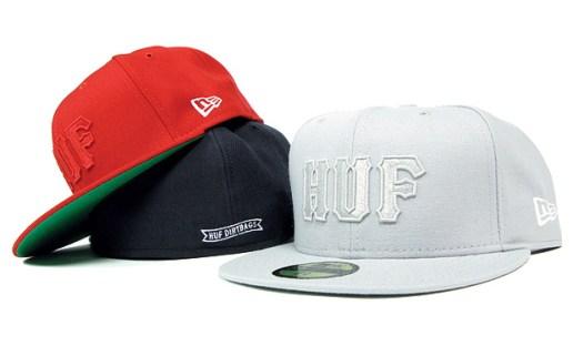 HUF Classic Logo New Era Caps