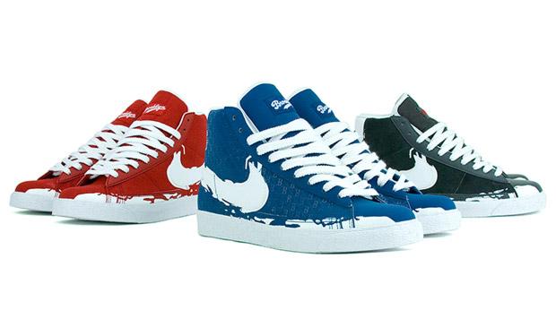 "Nike Blazer Hi ""Jackie Robinson"" Pack"