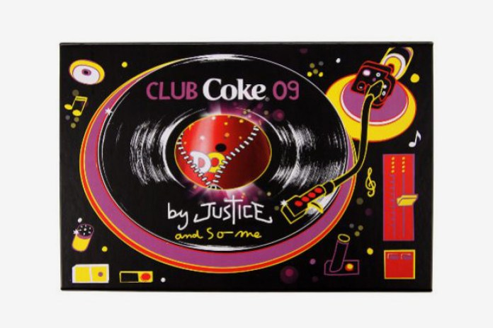 "Justice x SO ME x Coca-Cola ""Club Coke"" Limited Edition Bottle"
