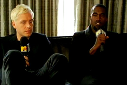 Kanye West & Mr. Hudson Interview with MTV