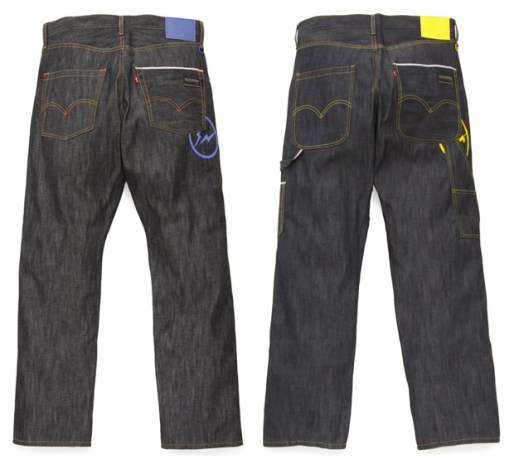 Levis Fenom Light oz Sunderys Denim