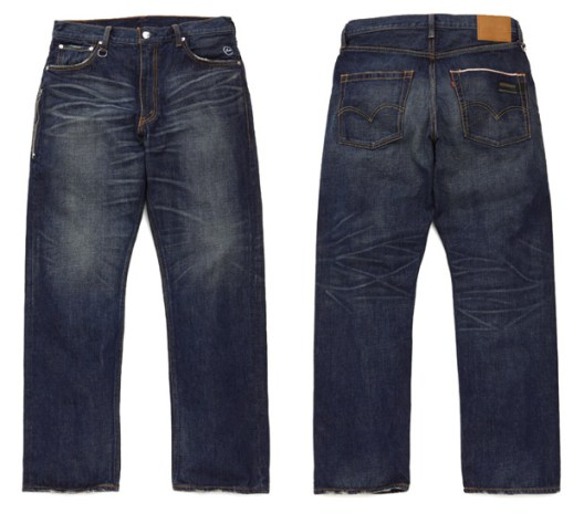 Levi's Fenom Washed Saddle Stitch Denim