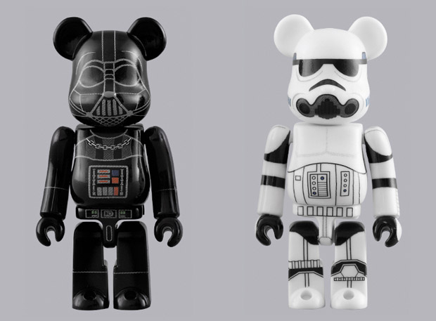 Medicom Toy | Darth Vader & Stormtrooper Bearbricks