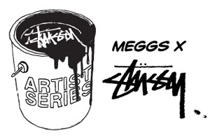 Meggs x Stussy Artist Series Collection