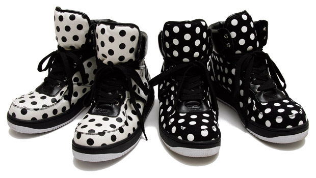 Milkboy Dot Hi Sneakers