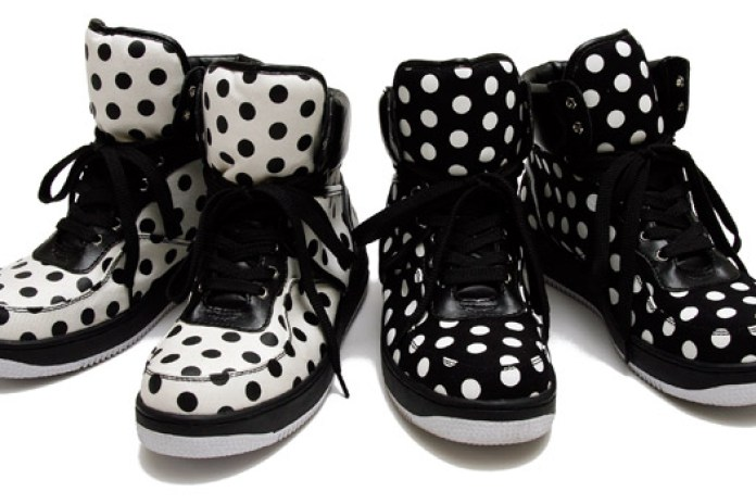 Milkboy Dot Hi Sneakers