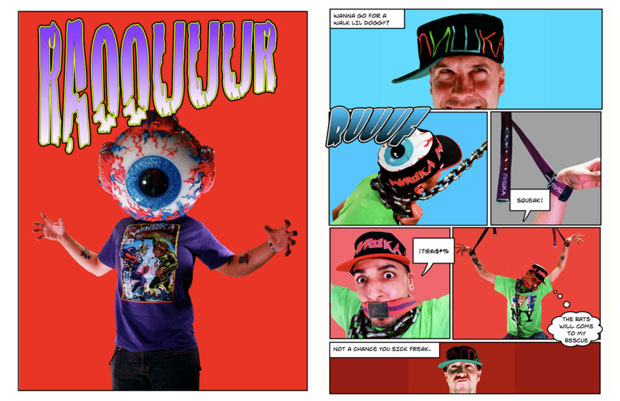 Mishka NYC 2009 Spring Collection Lookbook by Extra Butter