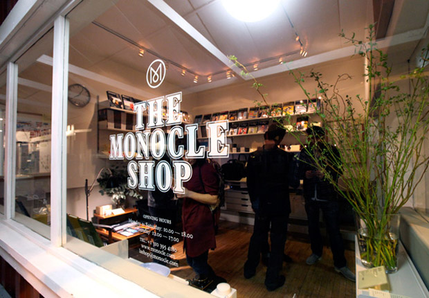 The Monocle Shop LA Opening