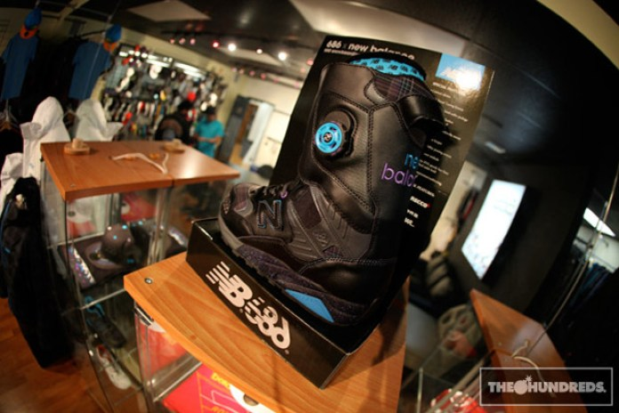 New Balance MT580 Snowboard Boot & 686 Office Visit