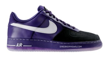 "Nike Air Force 1 ""Huarache"" Supreme SP Black/Purple"