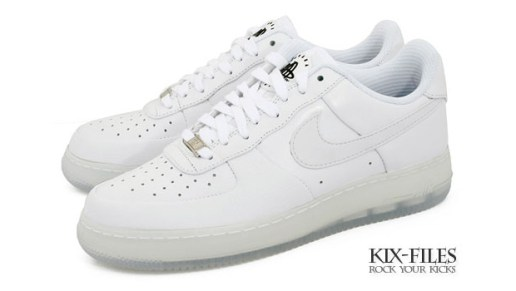 "Nike Air Force 1 Supreme ""Huarache"" White/White"