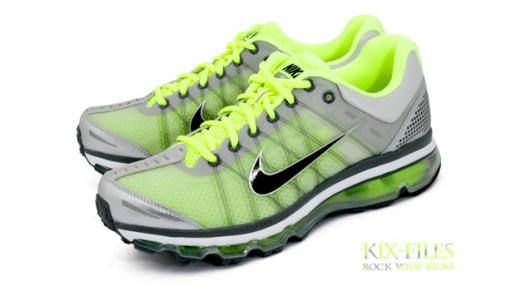 Nike Air Max 2009 Neutral Grey/Volt Colorway
