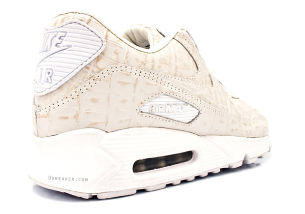 "Nike Air Max 90 ""Croc"" White Colorway"