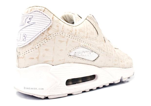 "Nike Air Max 90 ""Croc"" White Colorway"